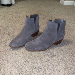 Cole Haan Grey Booties, size 10
